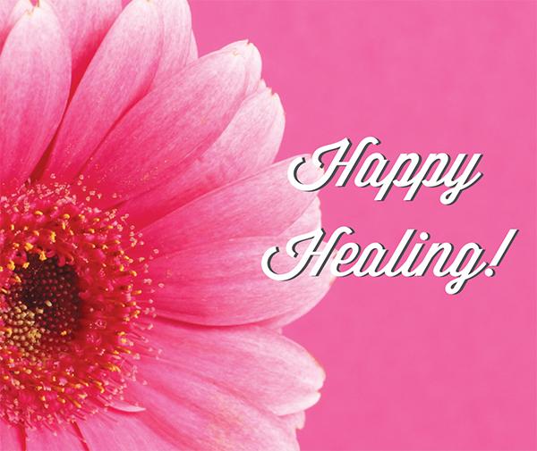 Happy Healing!